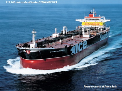 Oil tanker cargo loading procedure