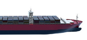 large containership hull form