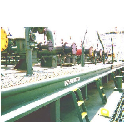 Cargo oil loading preparations for oil tankers