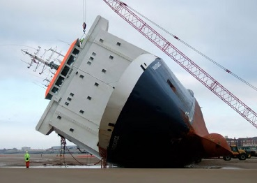 Conditions of stability, hull strength, draft and trim of