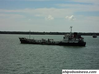 Oil tanker at Port klang anchorage